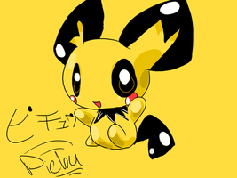 Pichu in GIMP by Chaomaster1