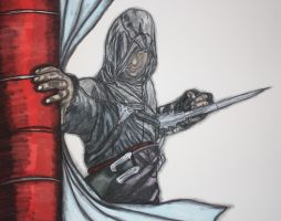 Altair Assassins Creed by bluedragoneye
