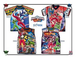 Power Rangers_Boys' Tops by junroc