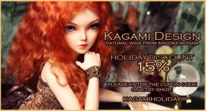 Discount coupon for Etsy shop by Kimirra-bjd