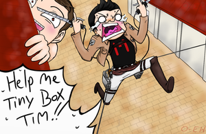 Attack on Markiplier (by One-EyeHitomi) by One-eyeHitomi