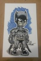 Chibi Batman by IanDWalker
