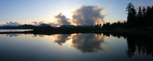 Cloudy Horizon Pano by Muskeg