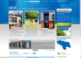 Site immobilier by Giboo