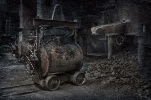 The old foundry furnace ... by 1krtecek