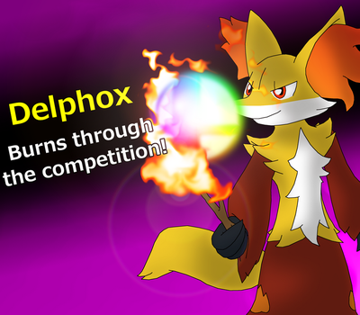 Delphox for Smash Bros.! by Buijesty