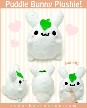 Puddle Bunny Plush by celesse