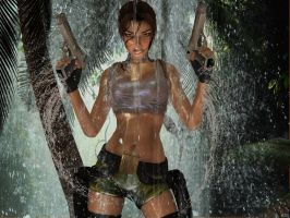 pacific coasts Lara Croft  still faster by 7ipper