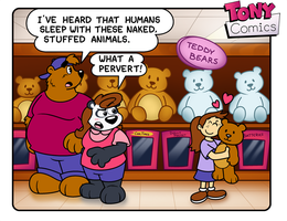 A Bear Thing by TonyBearComic