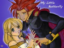 WFY: My Little Butterfly by red-winged-angel