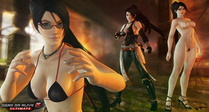 (ER) DOA5U - Momiji - Hidden Black Flower (+18) by IIReII