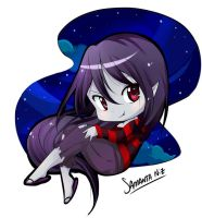 Marceline time adventure chibi by keitenstudio