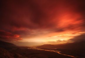 The master of fire by landscapes-flake