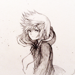 Sketch: Roxas by eumiii