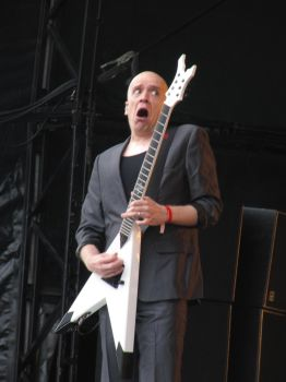 Devin Townsend at Bloodstock 2 by thehellpatrol