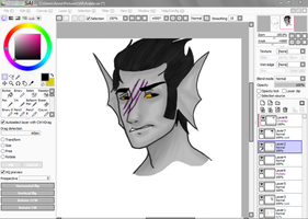 WIP: For Ask Eridan by DuckOfEpicFail