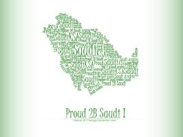 Proud 2B Saudi by aliohali