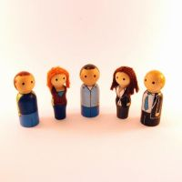 How I Met Your Mother pegs by jen-random