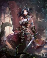 Woman Warrior-- Oscar lv.1 by watt277