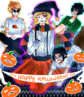 happy halloween by Namimorii