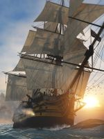 HMS Victory in action by CraigJohn