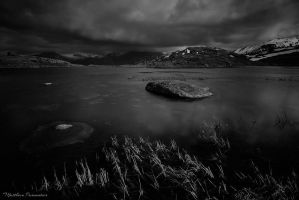 Desolation lake by matthieu-parmentier