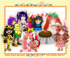 ~Easter collab~ by Yuuricchin