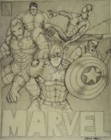Marvel Characters by PatrickOlsen