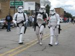 Storm Troopers invade Car Show by SolitaryGrayWolf