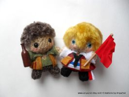 Les Miserables amigurumi by AnyaZoe