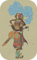 Dessert Nomad Sand Warrior by Narasura-of-Kashi
