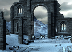 Winterland 2 -premade background by BrianFP