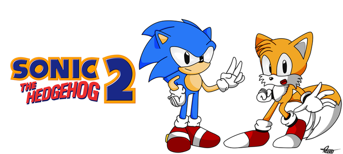 Sonic 2 by axl-universe