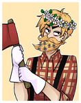 Don't Starve , Woodie by UndeadCrime