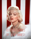 A Message From Marilyn by poasterchild