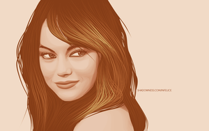 Emma Stone Vexel by iPeccatore