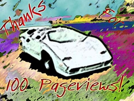 Thanks For 100 Pageviews by Itachi-hime