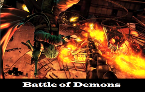 UMvC3 Poster: Battle of Demons by huyh