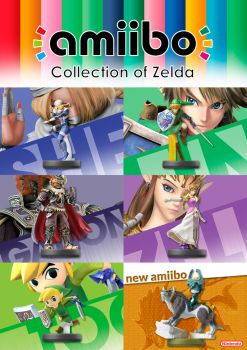 Advertising about Zelda's game amiibo by ThalitaBLeite