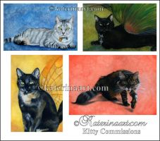 Kitty Commissions by Katerina-Art