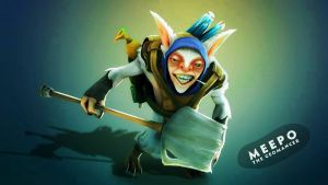 Meepo the Geomancer Dota 2 by abadauy