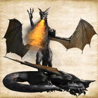 Vermithrax 02 by Just-A-Little-Knotty