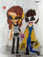 .:The cat hunter and Grace chibi:. by suriminam