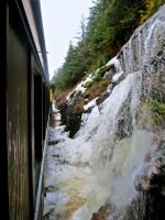 Waterfall on the Tracks. by RPM1000