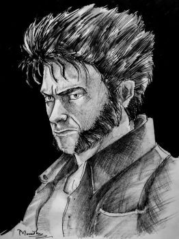 The wolverine !! by Monesh98