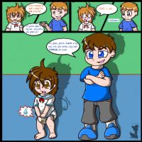 AR'd By My Cousin Part 2: Big Kid? REmake by BabyChrisFox