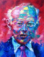Esteemed Leader-Lee Kuan Yew -- SOLD by tilenti