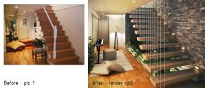 remodeling a staircase op3 by kasrawy