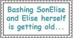 SonElise and Princess Elise Stamp by TotallyDeviantLisa