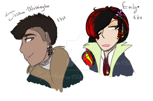 Until Dawn Character Redesigns 1# by Cynderthedragon5768